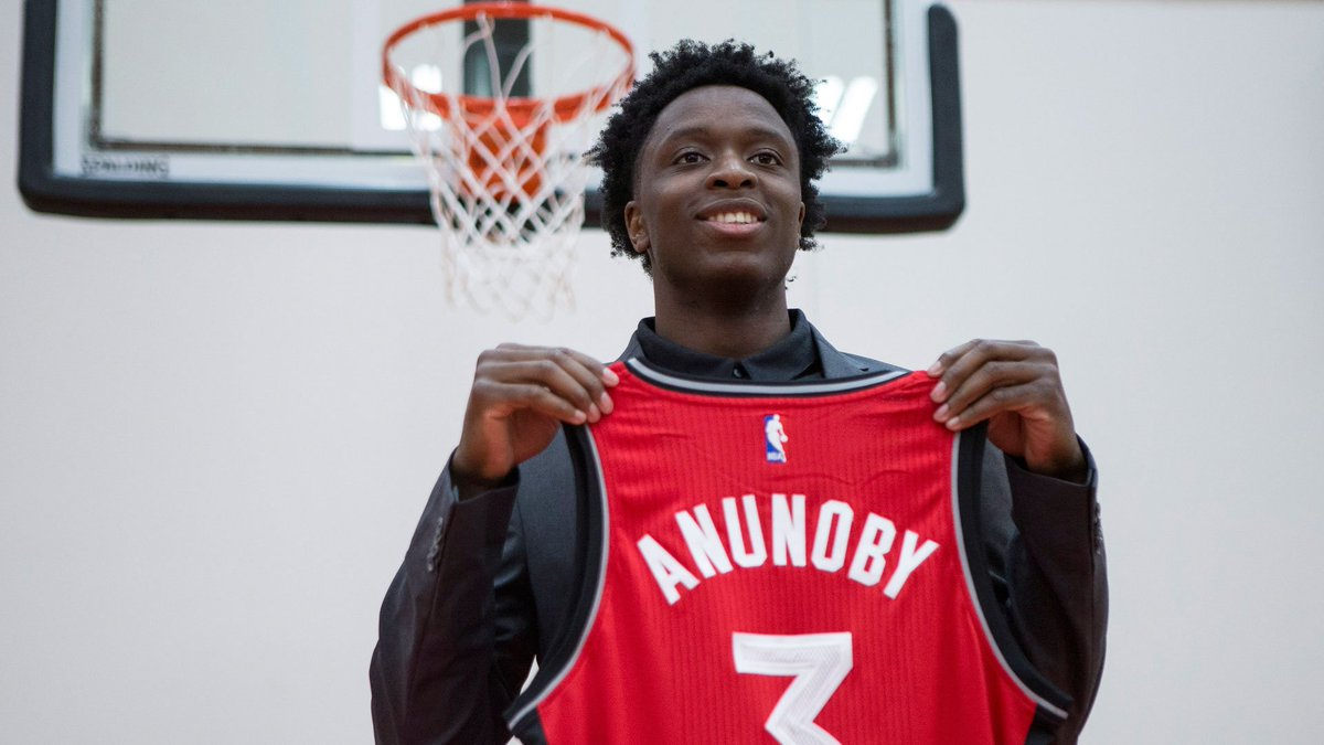 New Raptors forward Anunoby says 'everything happens for a reason'
