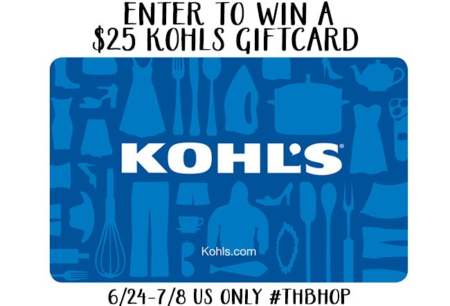 Storming into Giveaways with a $25 Kohls Gift Card
