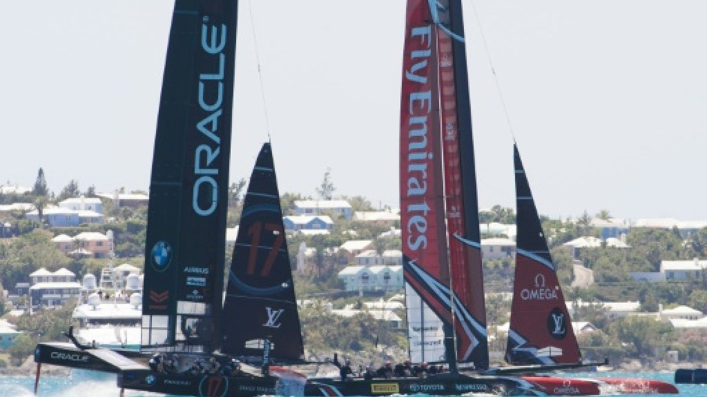 America's Cup future on line in USA-New Zealand duel