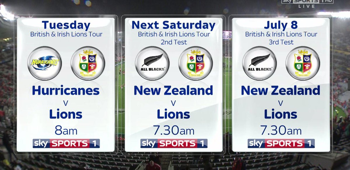 test Twitter Media - The Lions now travel to Wellington for a meeting with Super Rugby champions the Hurricanes on Tuesday! https://t.co/N3h68hh07H