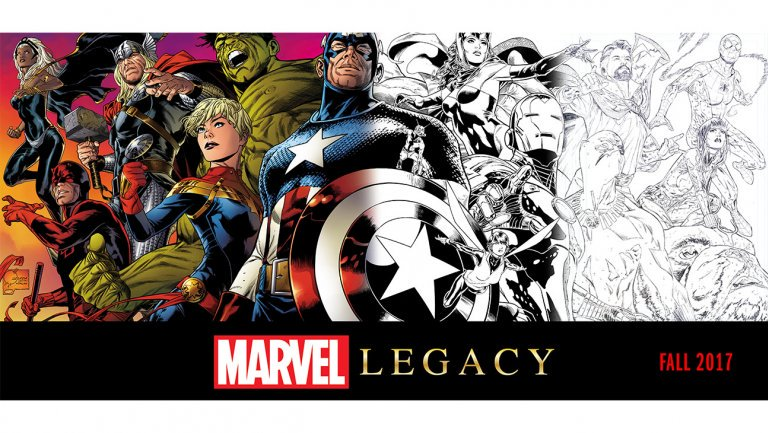 Marvel unveils launch slate for comic book 'Legacy' relaunch