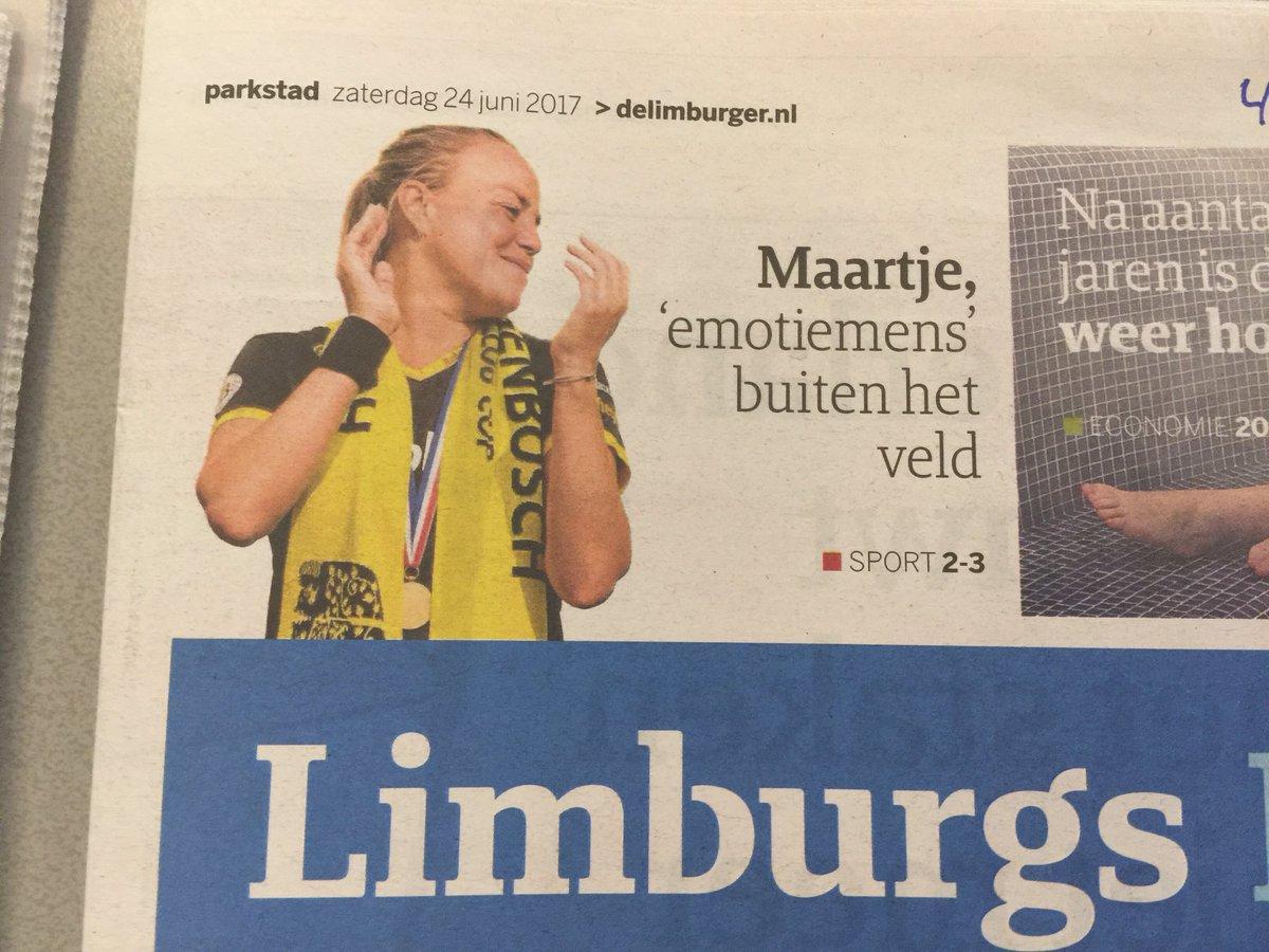 """test Twitter Media - RT @Vicarious1984: @MaartjePaumen zelfde achternaam, """"verre"""" familie? :) Mooi interview in Limburgs Dagblad https://t.co/FFdCosssig"""