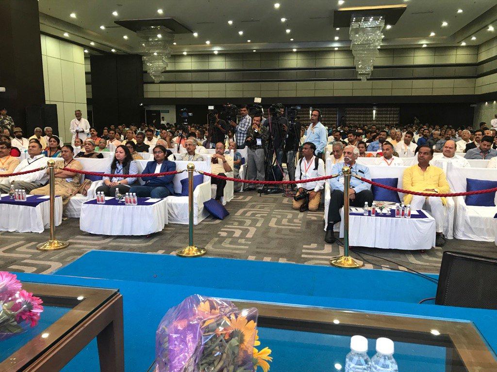 Anti Emergency gathering in Gandhinagar Gujarat today. I will address it soon