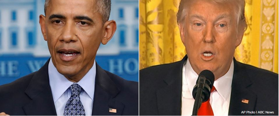 Trump questions Obama's response to 'election meddling by Russia'