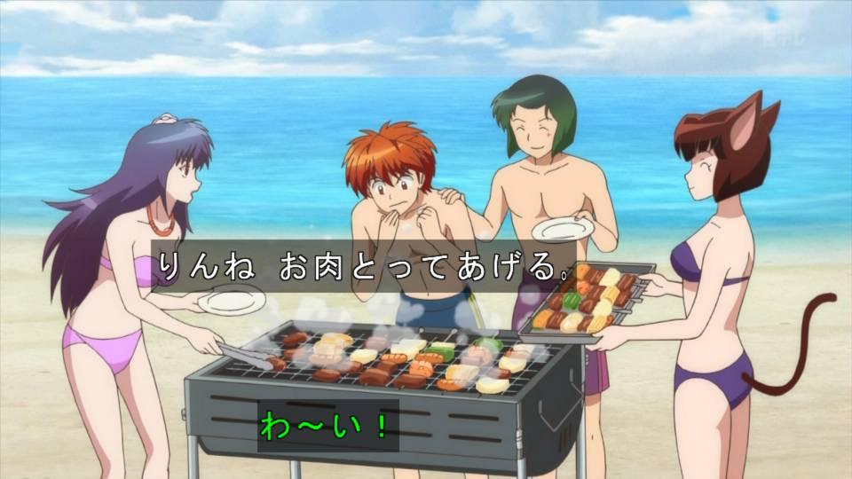 ETVでこれは全裸と同義 #境界のRINNE #anime_rinne