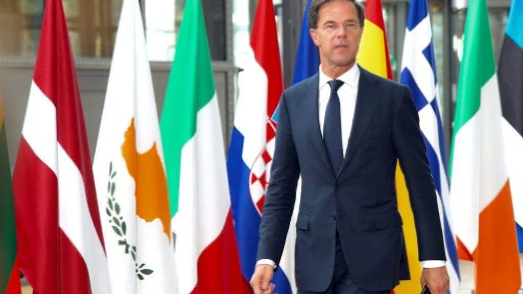 Small Christian party to join talks on forming Dutch govt