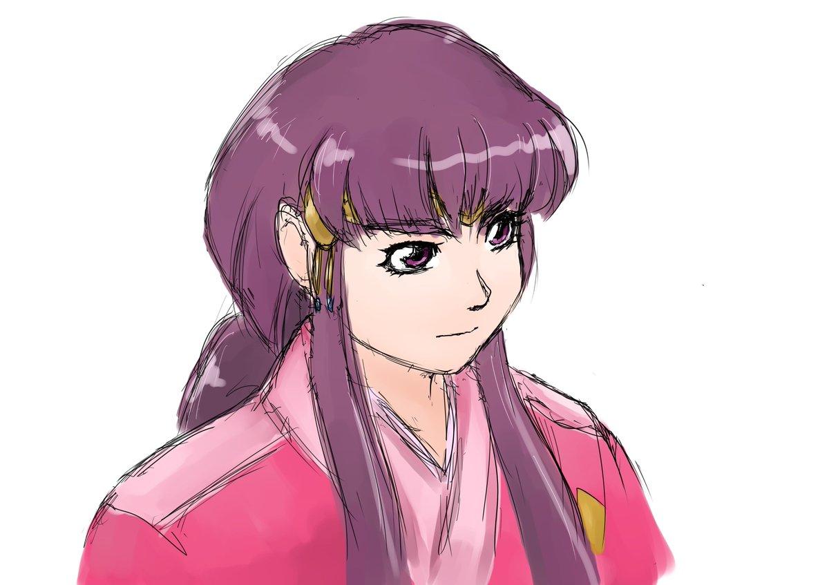 昨日に引き続いて天地落書き。「天地無用!魎皇鬼」から阿重霞さん。表情豊かなキャラクターを何の動きもなく描いてしまうという
