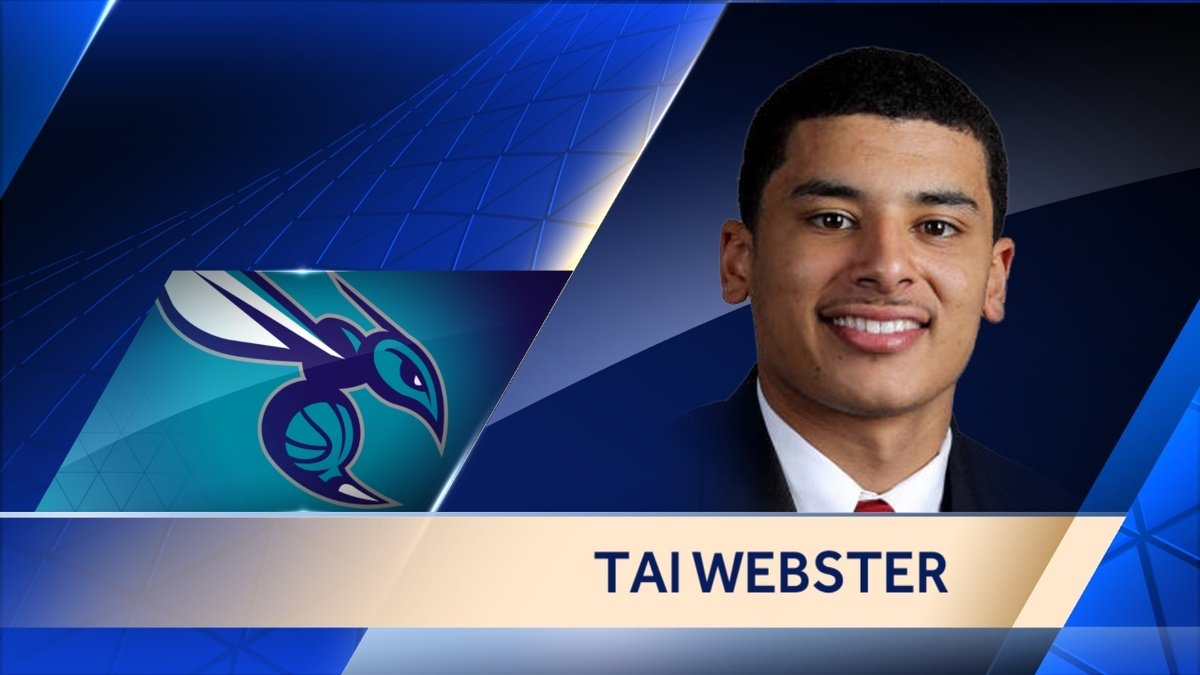 Tai Webster to play for Charlotte Hornets at NBA Summer League