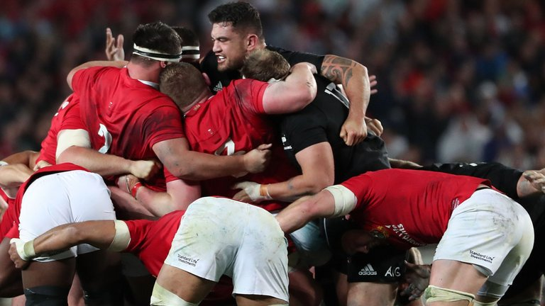 test Twitter Media - Steve Hansen hits back after All Blacks outmuscle British and Irish Lions: https://t.co/v1EtSKsqDZ https://t.co/WJsmpzKurV