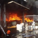 Fire breaks out at Tuas factory, SCDF fighting fire as 2 taken to hospital for burns