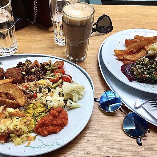 We are open for a delicious #veggie Saturday brunch, come and visit us in Heddon Street!
