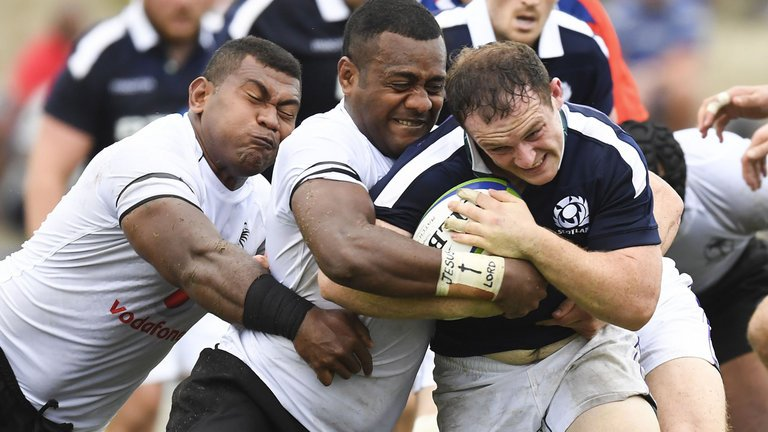 test Twitter Media - Fiji held off a late Scotland fightback to secure a 27-22 victory in Suva: https://t.co/HYK8A94SaO https://t.co/9gWgnNwIDv