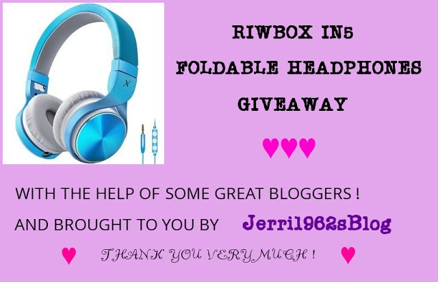 RIWBOX IN5 FOLDABLE HEADPHONES GIVEAWAY 7/1