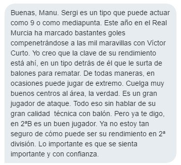 De @LoBanjo sobre Sergi Guardiola, el que será, según varios medios, próximo jugador del #CCF. Interesante. 👇👇 https://t.co/pdNdOqgVUg