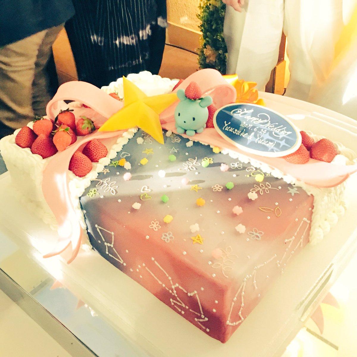 今日は!友人のみとさん の結婚式でした!アニメ放課後のプレアデスで結ばれたプレアデス婚…!作品への愛がいっぱいお星様いっ