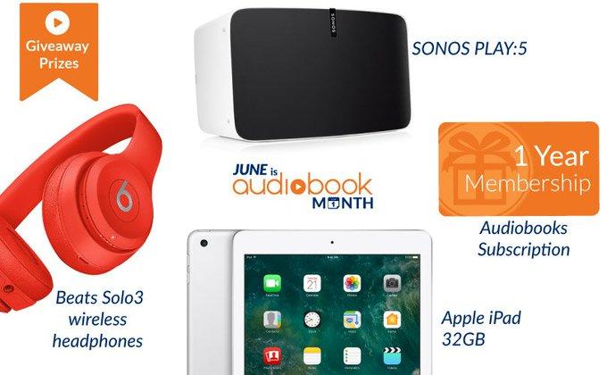 ❤️ Audiobooks.com presents Audiobook Month Celebration Giveaways ❤️