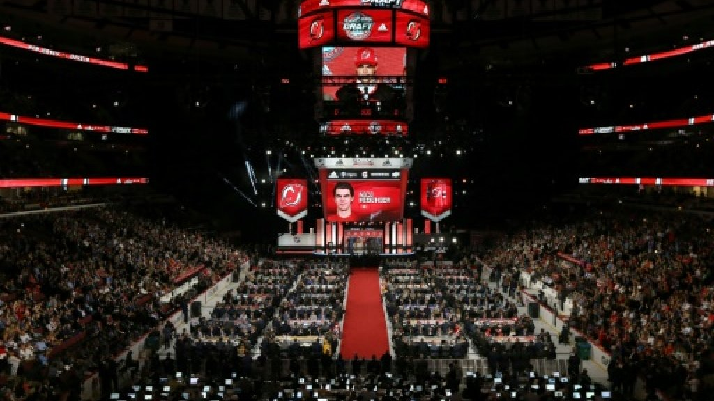 NHL Devils take Swiss forward Hischier first overall