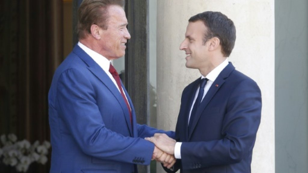 Climate change more important than partisan politics: Schwarzenegger