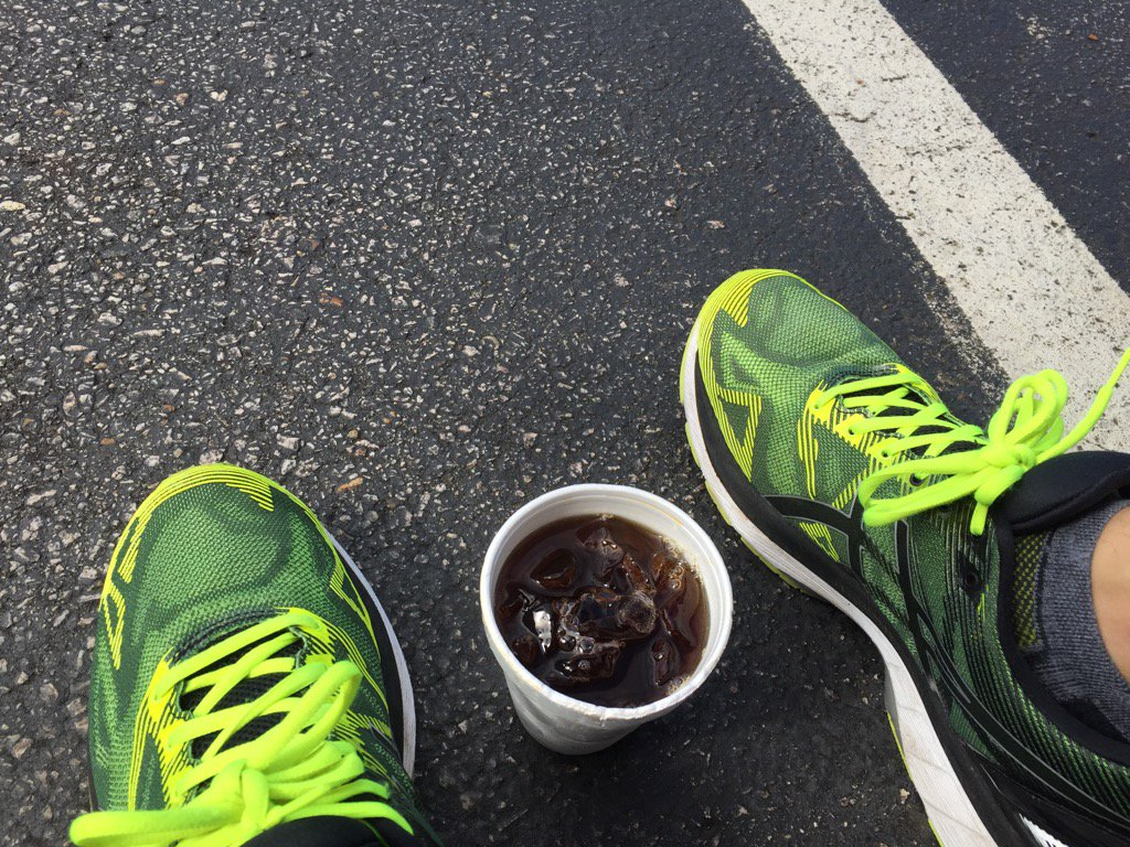test Twitter Media - #summersweat run this morning was legit. Cooling off with some ice coffee! https://t.co/scJA8ERRgy