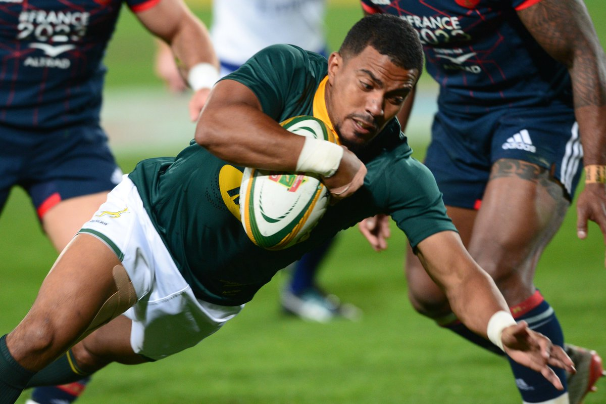 test Twitter Media - A new era for @Springboks? Watch highlights of their 35-12 win over France which completed a 3-0 series whitewash https://t.co/X3gP02dzsl https://t.co/q7AXUZjewX