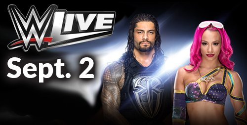 Tickets for @WWE Live Labor Day weekend @SprintCenter are on sale now!  https://t.co/5aJd3vvj6M