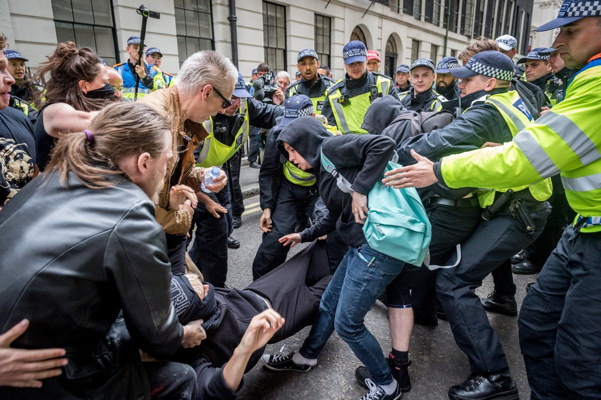 British police brace for trouble as far-right and anti-racist groups protest