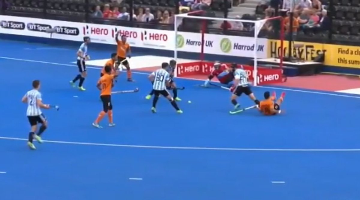 Malaysia go down fighting to Argentina in World Hockey League