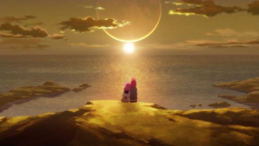 本日6月25日は、2年前、関西圏で『放課後のプレアデス』最終話「渚にて」が放送された日となります。 #プレアデス