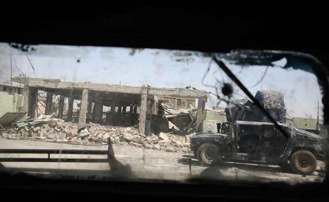 In Iraq's Mosul, Ghostly Civilians Emerge From Old City Hell