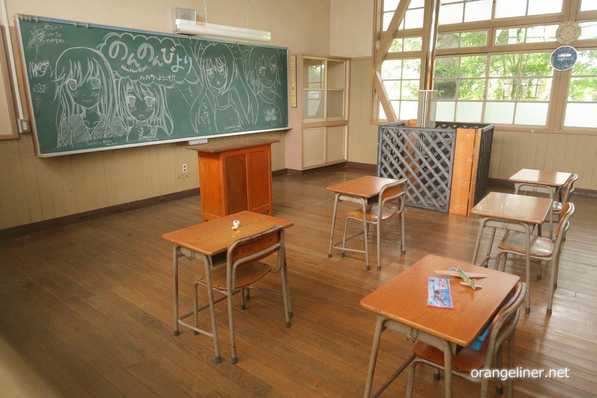 昨日6/25は「のんのんびより」の聖地とされる、小川町立 小川小学校 旧下里分校(埼玉県比企郡小川町)へ行ってきました。