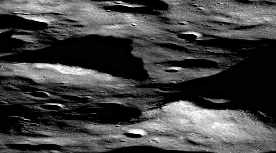 NASA snaps rare evidence of volcanic activity on the moon