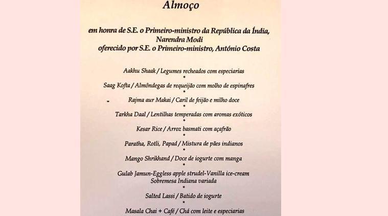 Portuguese PM arranges special 'Gujarati lunch' for PM Modi, menu includes 'Shrikhand', 'Rotli'