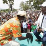 Raila drums up support for Wetang'ula bid