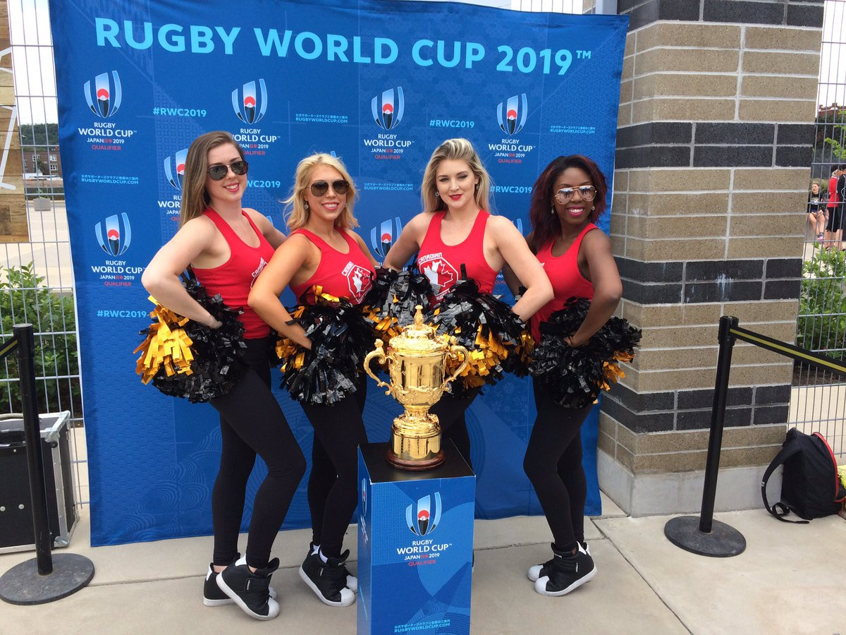 test Twitter Media - As always the Webb Ellis Cup is a big hit today at @TimHortonsField #RWC2019 https://t.co/hYR4XQhqS2