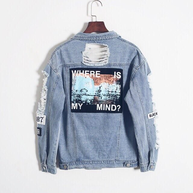 'Where is my mind' Denim Jacket ��  Shop: https://t.co/C7Dp49pfqD  Free Shipping Worldwide �� https://t.co/i8Q1fcY58N
