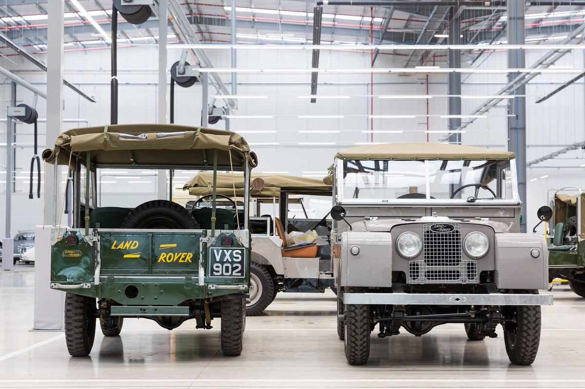 Time travel agents: Jaguar Land Rover's new Classic Works HQ