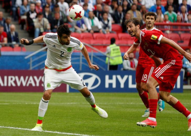 México elimina a Rusia y avanza a semifinales de la Copa Confederaciones