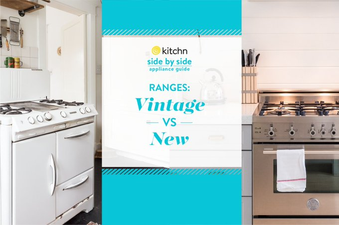 Should You Get a Vintage Range or a New One? — Side by Side: A Guide to Appliance Shopping  https://t.co/eooJIGA3V6 https://t.co/lNpy83qwOf