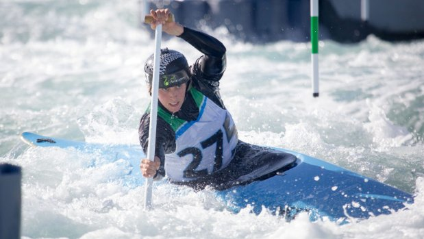 Luuka Jones agonisingly close to the medals in World Cup canoe slalom