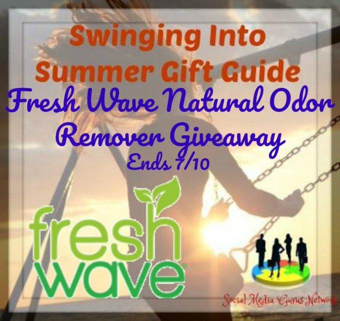 Fresh Wave Natural Odor Remover Giveaway Ends 7/10 @fresh_wave @SMGurusNetwork