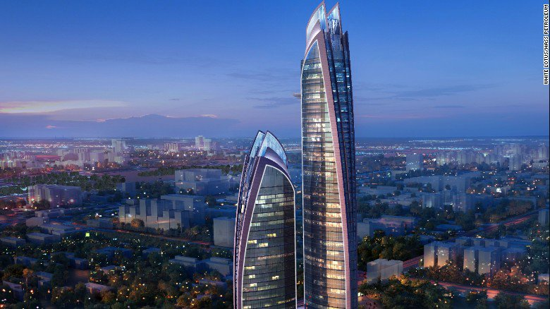 Work begins on the tallest skyscraper in Africa