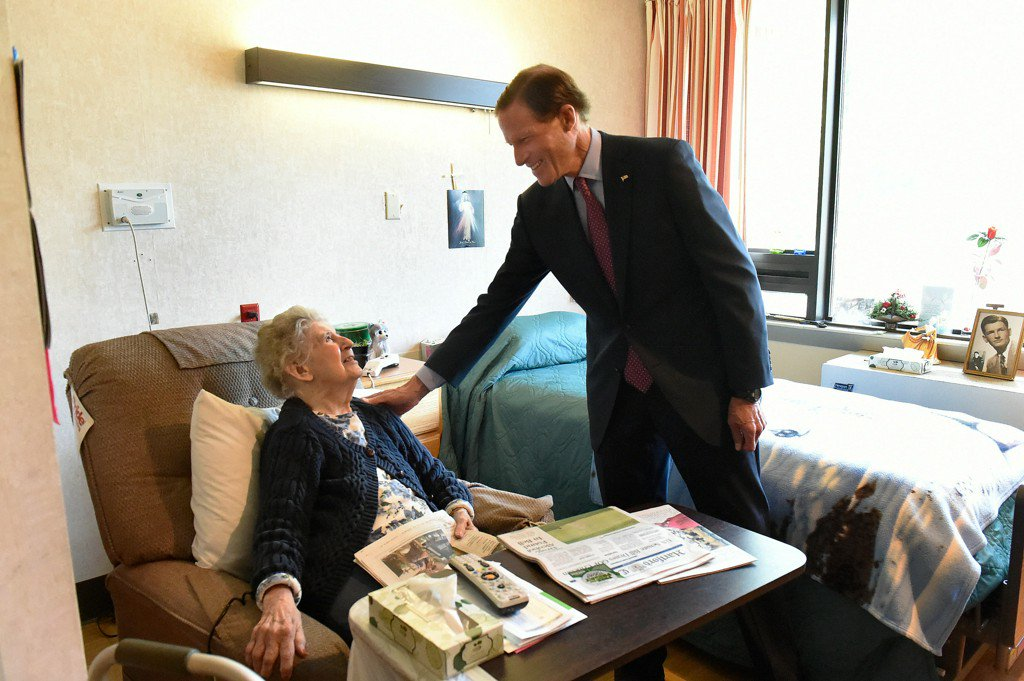 Blumenthal And Murphy: 'Titanic Political Fight' Over Health Care Looms