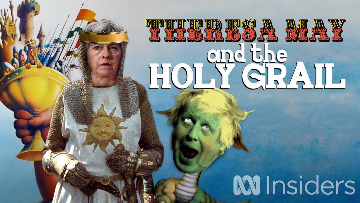 RT @rabbitandcoffee: THERESA MAY AND THE HOLY GRAIL https://t.co/SQlznuJTcK https://t.co/mtnSpARwPK