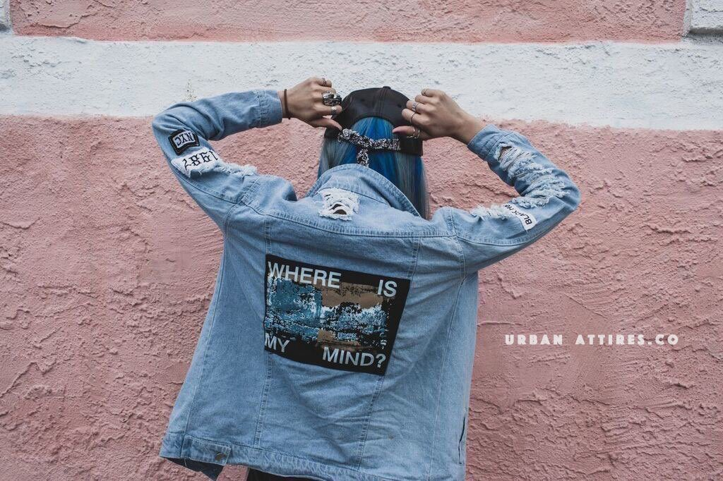 'Where is my mind?' Denim Jacket ��  Shop: https://t.co/gESWehu6yR  Free Shipping Worldwide �� https://t.co/HyNzj1VdbN