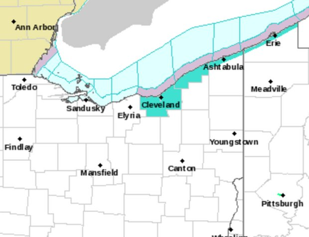 Beach hazard statement issued for possible rip currents along Lake Erie beaches in Northeast Ohio