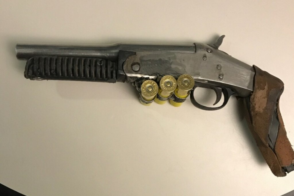 Man claiming to be 'Mad Max' arrested for 'numerous illegalweapons'