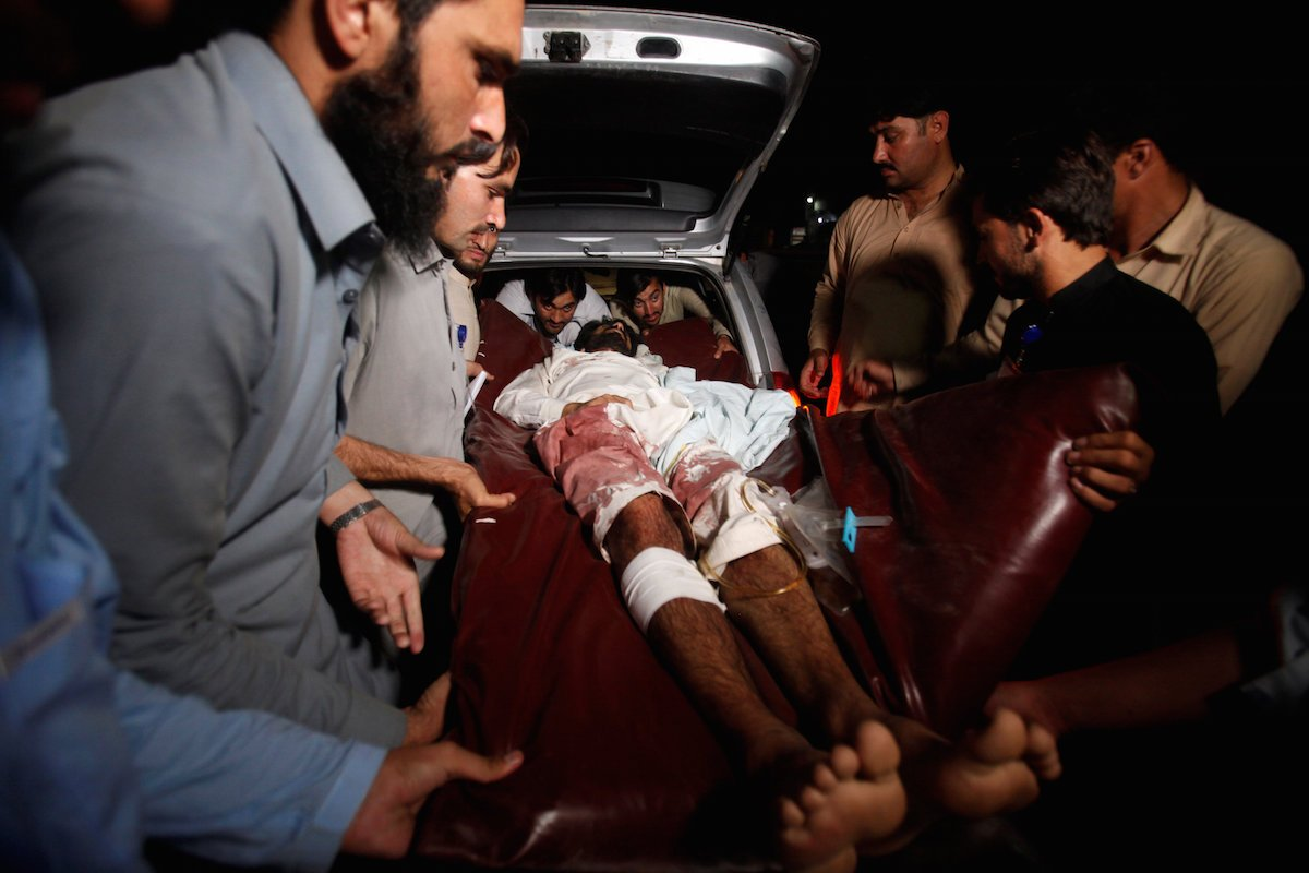 50 killed in Pakistan bombing claimed by sectarian militant group