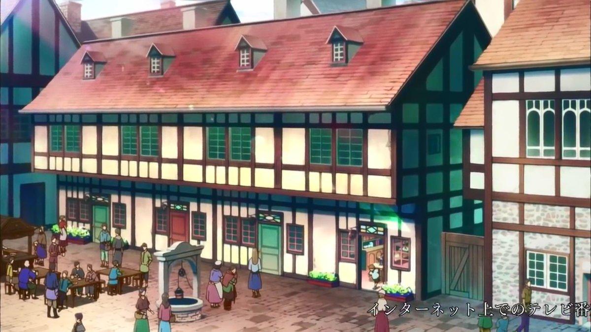 赤髪の白雪姫の白雪の薬屋?をマイクラで再現クオリティは高くないです。見た目重視で作ったのでドアは開きません。ついでに中身