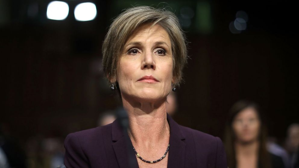 Sally Yates goes after Attorney General Jeff Sessions over criminal justice reform