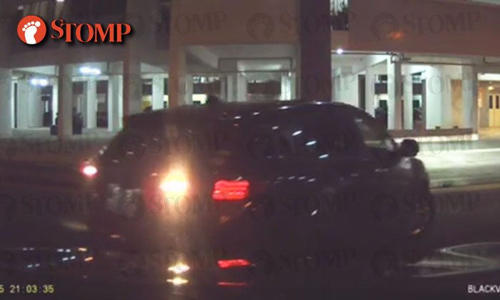 Going somewhere after hitting Kia at Boon Keng? Too bad Honda driver, we've gotcha on camera